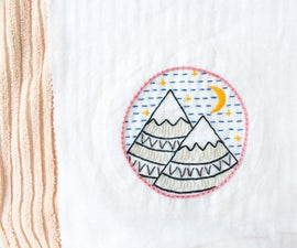 Washing, Drying and Blocking Embroidery