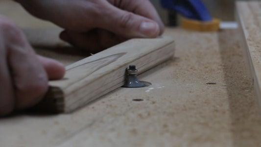 Edging, Sanding, Glue Up