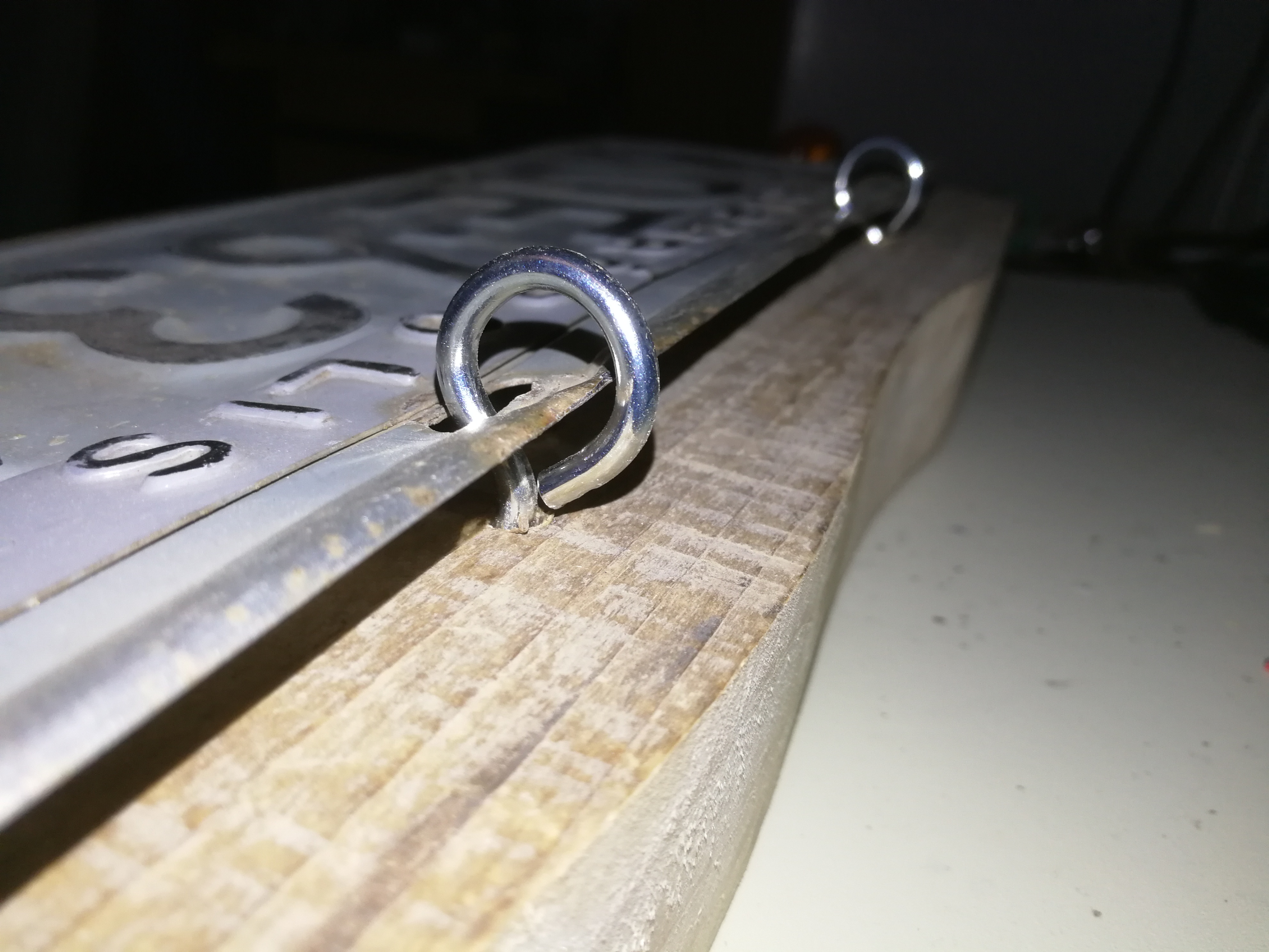 Picture of Mounting the License Plate