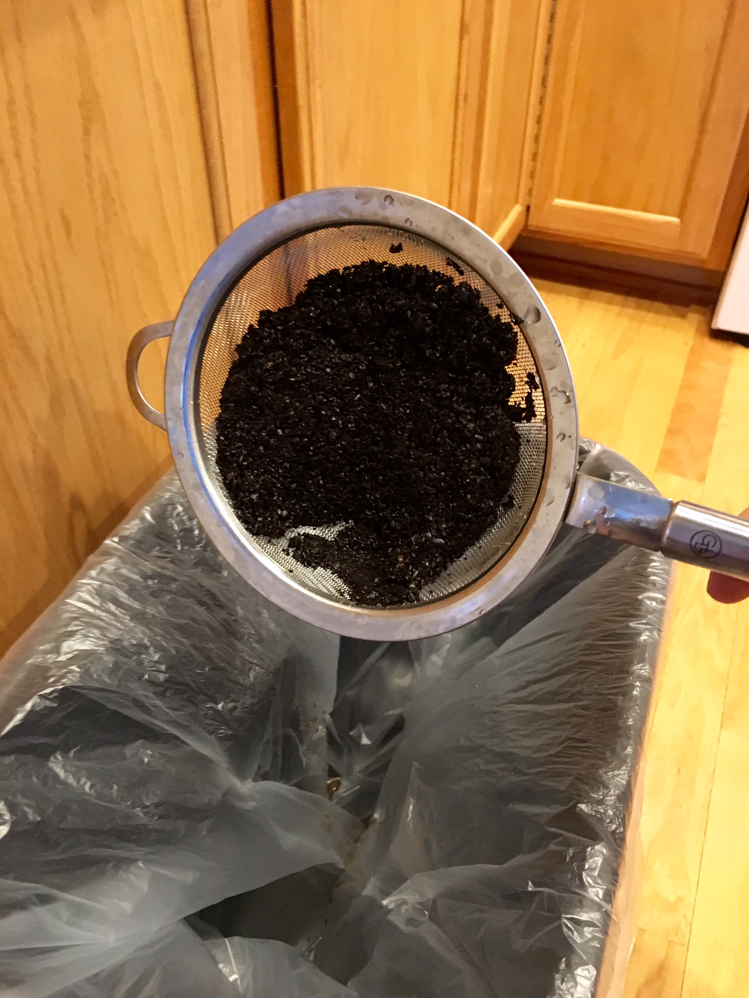 Picture of Dispose of Grounds