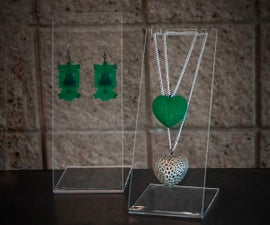 Laser Cut Jewelry Display