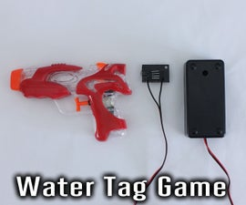 Electronic Water Tag Game