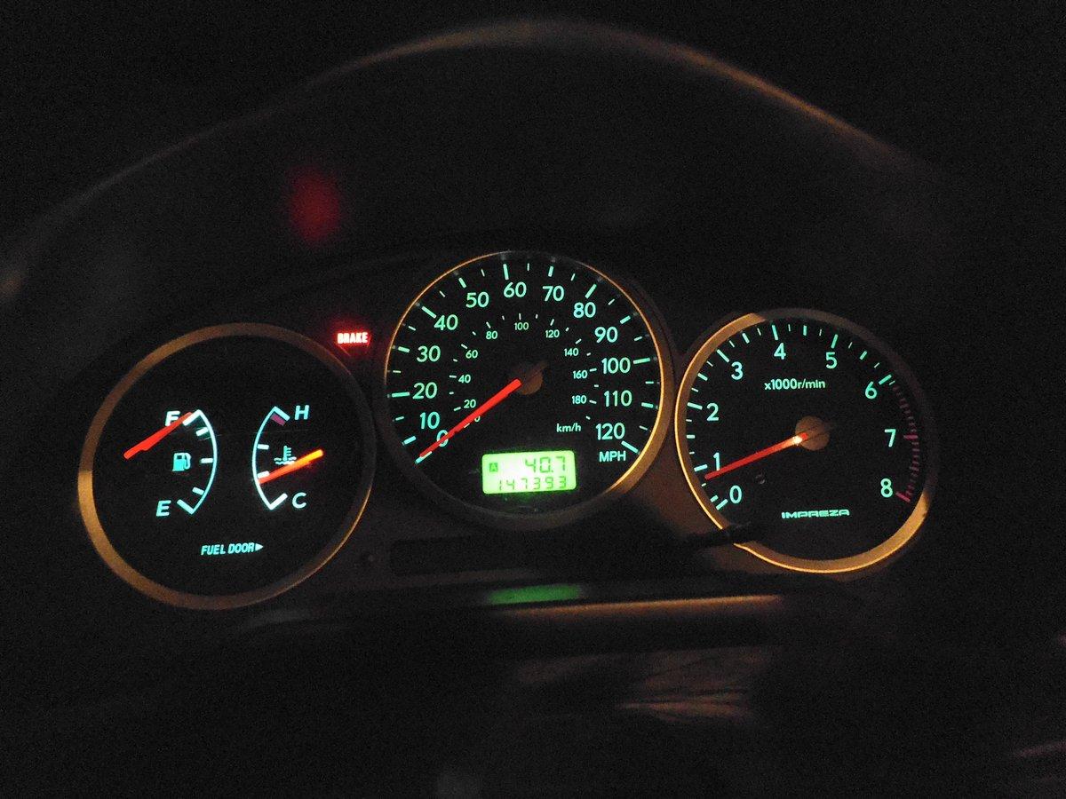 Replace Instrument Panel Lights on 2000 - 2007 Subaru Impreza: 4