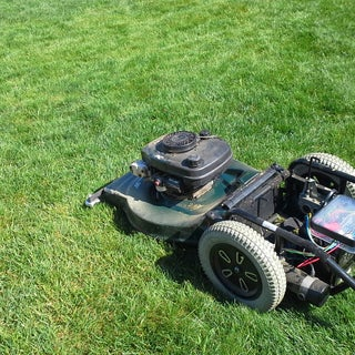 RC Riding Lawnmower