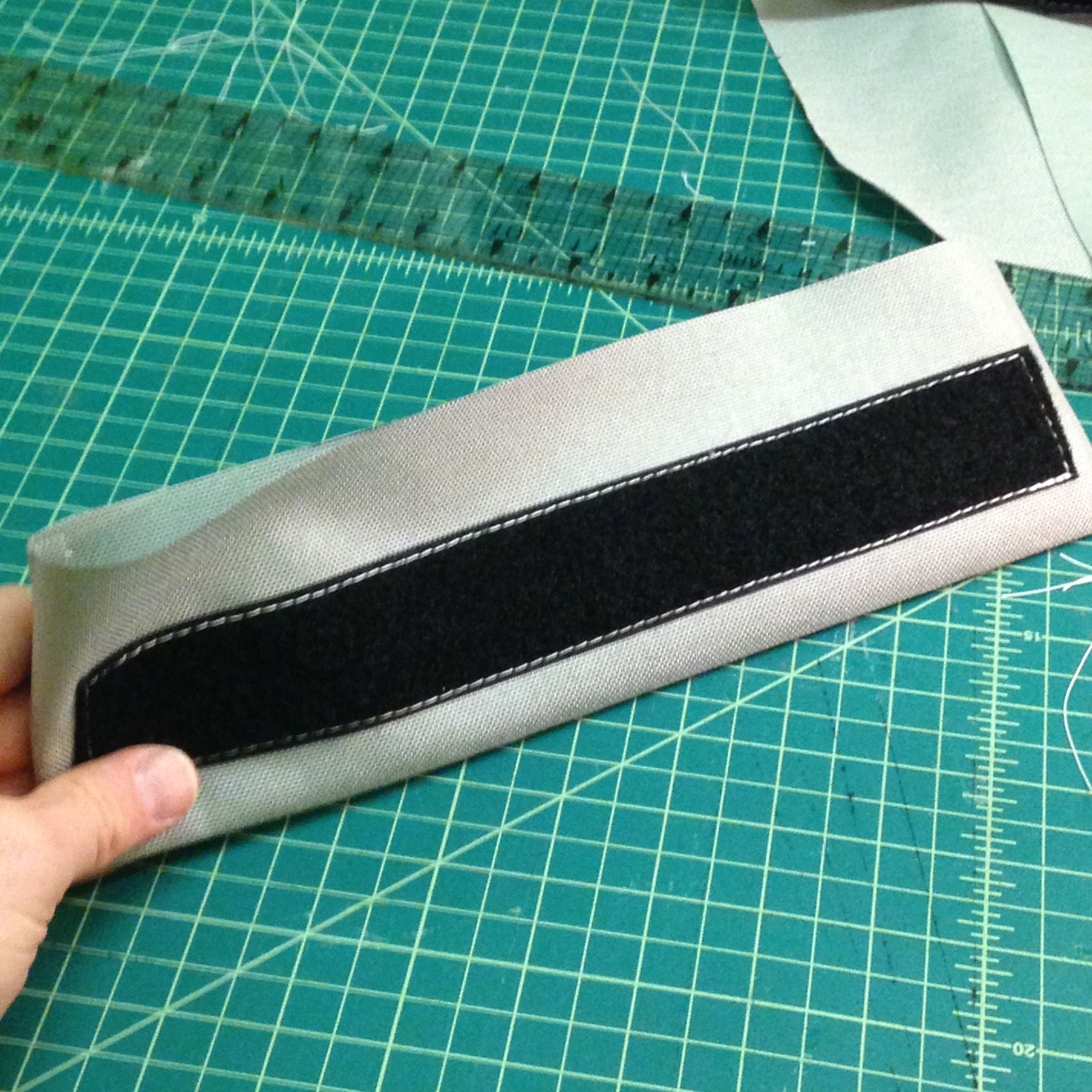 Picture of Sew Velcro Onto Inside Flap