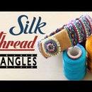 How to Make Multi Colour Silk Thread Bangles || # New Design Bangle