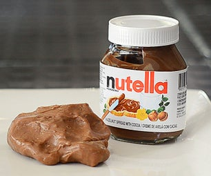 Edible Nutella Slime / Play Doh