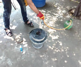 Methane Blaster Torch