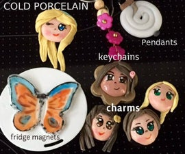 cold porcelain clay