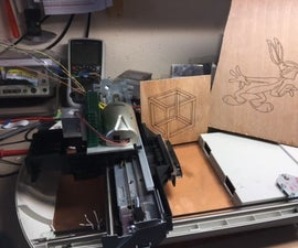Quick, dirty and cheap laser engraver