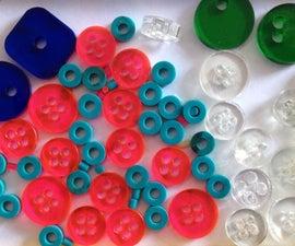 Lasercut Buttons & Beads