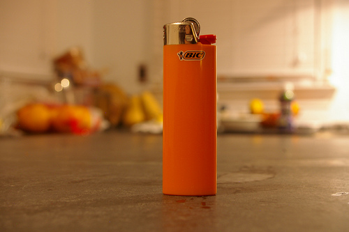 Picture of How to Remove the Child Safety on Lighters