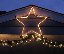 Custom size Christmas Star (for outdoors)