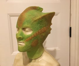 Making a Vastra Mask for Ny Comic-con 2016