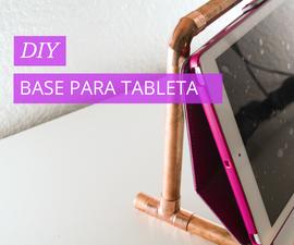 Base para sostener tablet (Tablet holder)