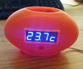 Raspberry Pi Barometer Weather Clock