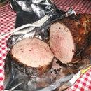 Perfect (med/rare) campfire roast
