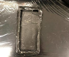 Making a Carbon Fiber Cell Phone Case
