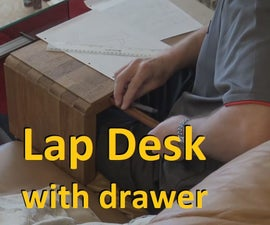 3-Way Lap Desk With a Pen/pencil Drawer
