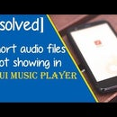 [Solved] Short Audio Files Are Not Showing in MIUI Music Player by HowIDoneIt