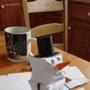 Origami Snowman