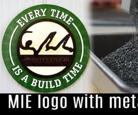 Make It Extreme's Logo From Metal Chips