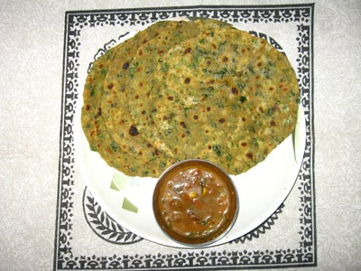 Chapatti  With Fenugreek Leaves