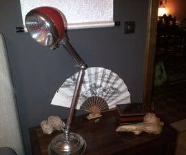 Car headlight desk lamp