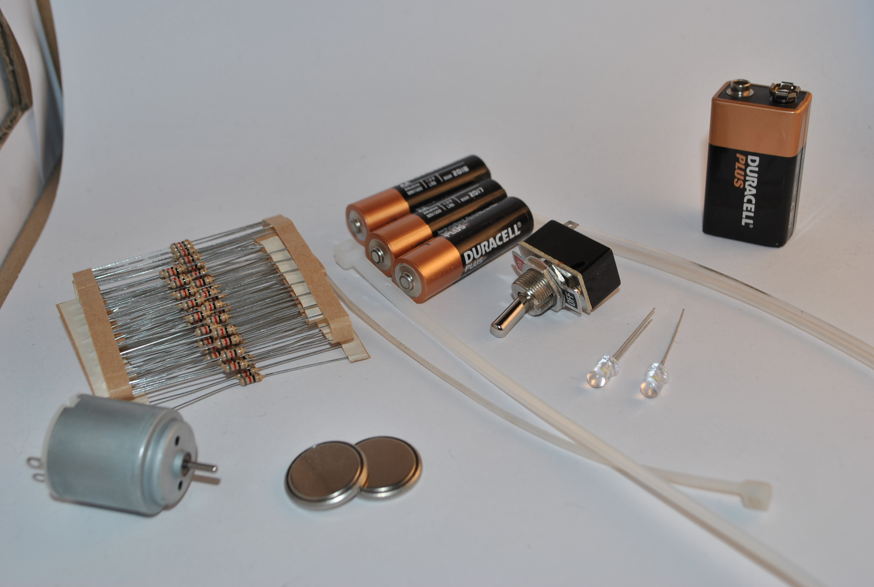 Picture of Beginner's Electronics Kit