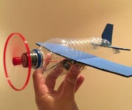 Plastic Bottle DC Motor Airplane