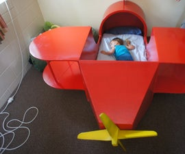 Fly Away to Sleep. Childs Bed.