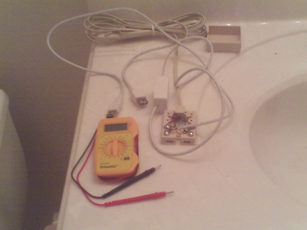 Picture of Install Ends and Test.