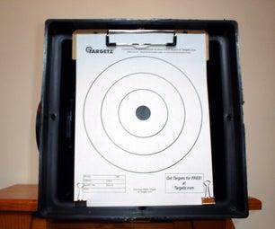 Making a portable Silent Air Gun BB/Pellet Trap