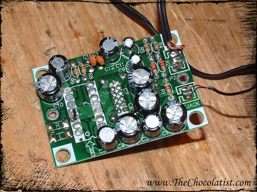 Picture of The Audio Amplifier
