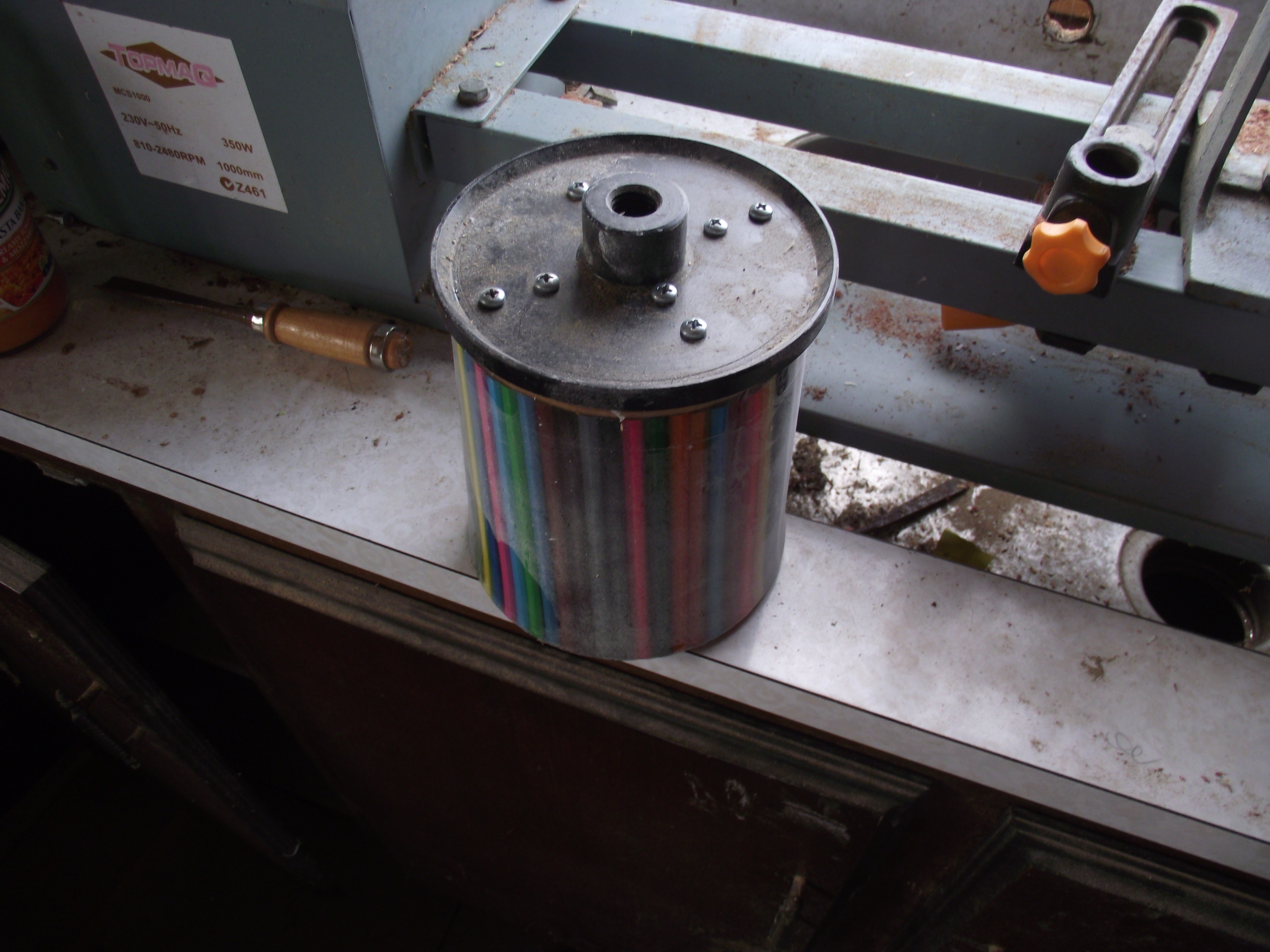 Picture of Mounting in the Lathe