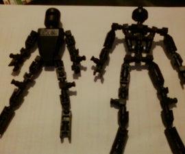 knex robot body