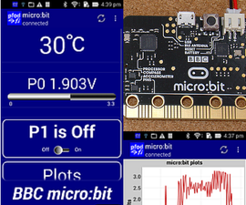 Android Controlled C++ Micro:bit - No Programming Required
