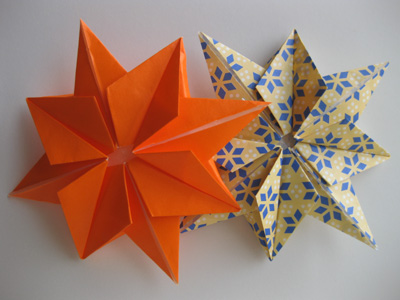 Picture of How to Fold an Origami Eight-Pointed Star