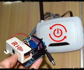 Wireless Router Remote Reboot - Infrared