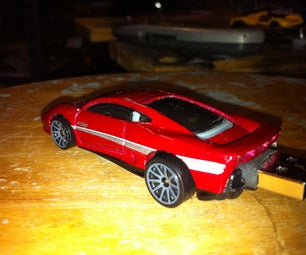 Hot Wheels Flash Drive