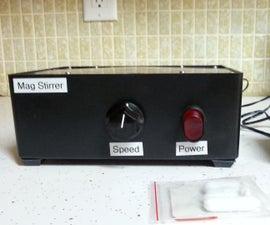 Simple DIY Magnetic Stirrer