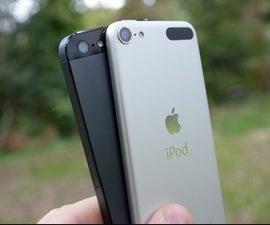 Turn Your ipod Touch 5th Generation To Iphone 5 (well sort of)