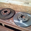 How to Change Front Brake Rotors on 2012 Fiat 500 Pop