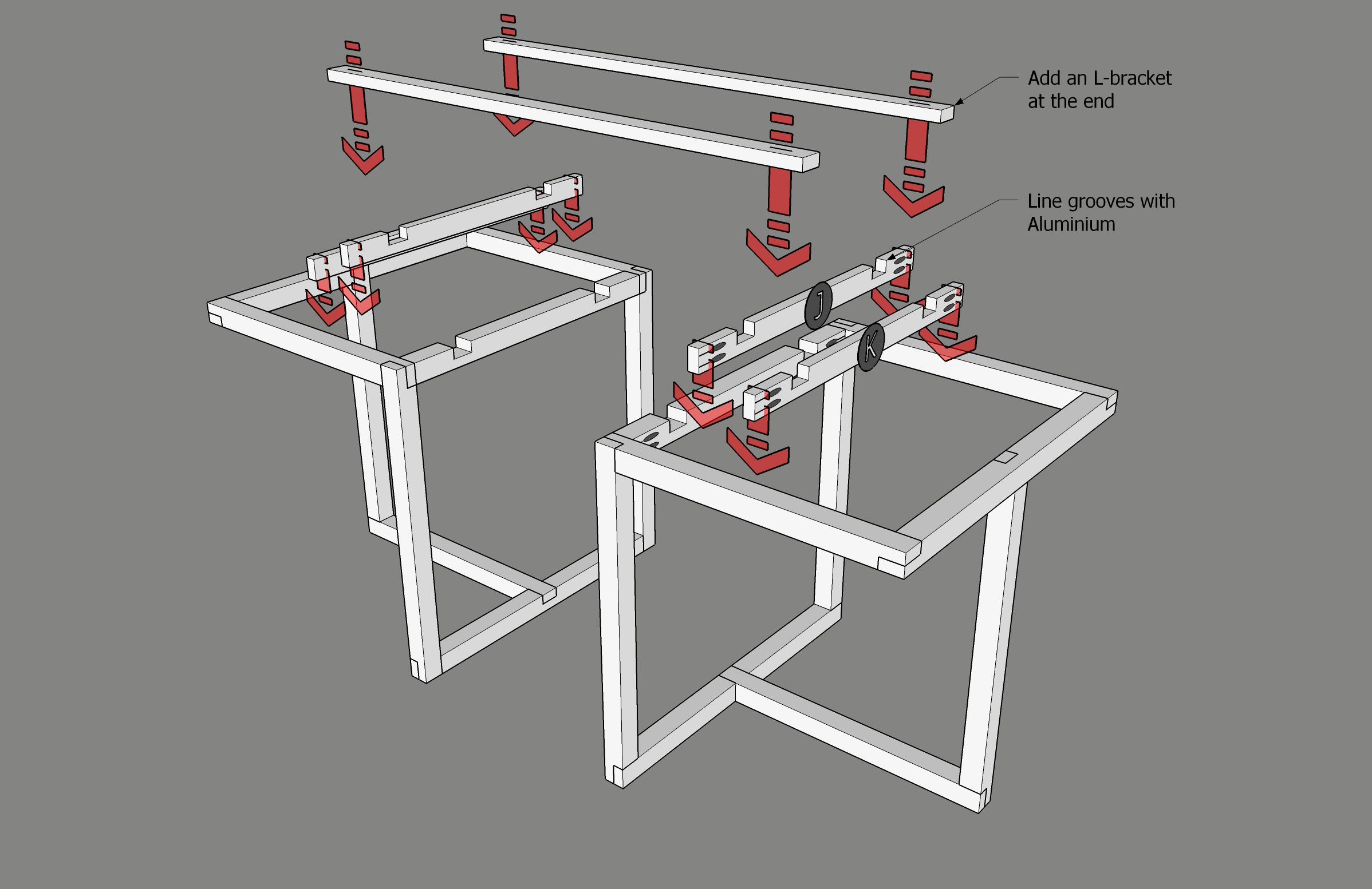 Picture of Assemble the Expansion Mechanism