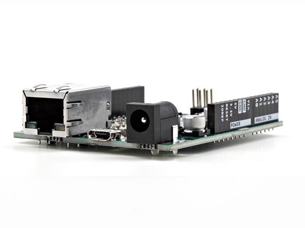 Picture of Arduino Leonardo Eth V3 and MySql Direct Insert No Intermediate Program or Pc