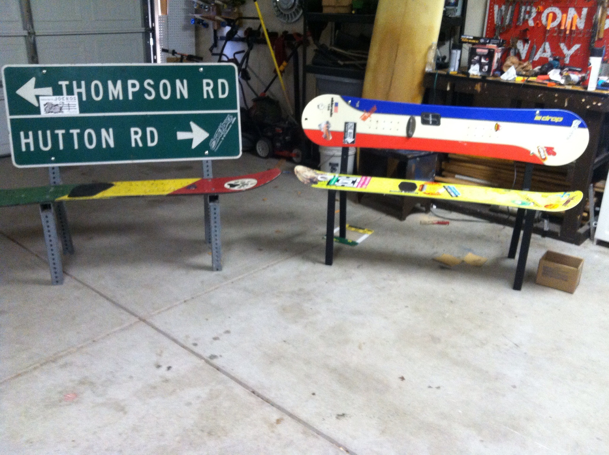 Picture of Snowboard Benches