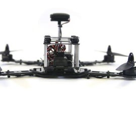 Easy 3-D Printed Frame RC FPV style Quadcopter