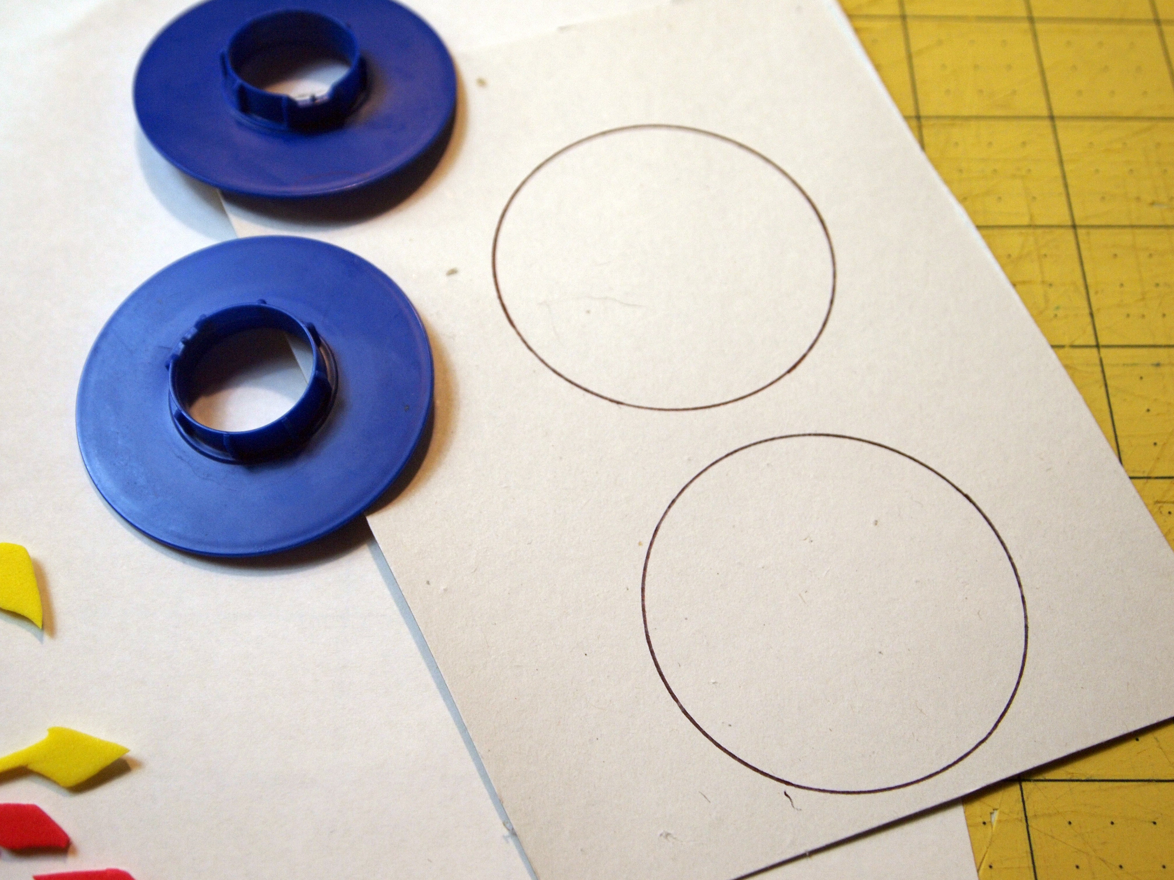 Picture of Materials for Foam Stamps