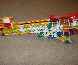 Truly Semi Automatic Knex Gun