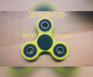 3D-Printed Fidget Spinner